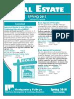 Real estate spring 2016 - Poconnor