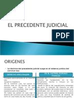 EL PRECEDENTE JUDICIAL.ppt