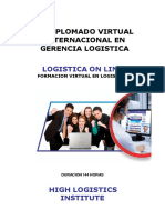 Contenido Academico Xvl Diplomado Virtual Gerencia Logistica 2014