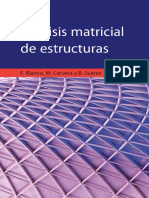 Analisis Matricial Estructuras