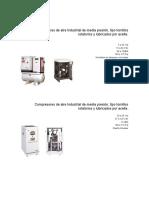 Compresores de Aire Industrial de Media Presión