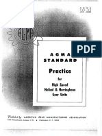 AGMA 421.06-High Speed