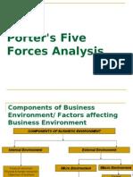 Porter's Model E- MBA, Final
