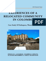 Experiences of a Relocated Community - Ices - Publication