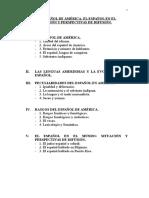 Tema 9. El Español de América...