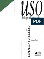 Uso de La Gramática Española - Avanzado