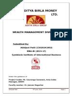 Wealth Management Division