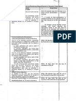 Reportorial Requirements for DS