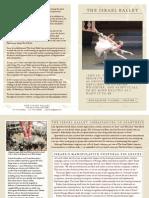 Israel Ballet Don Quixote Program