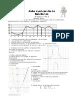 Auto Evaluación de Funciones 4º Mat B