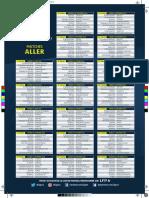 Le calendrier de Ligue 1 2016-2017
