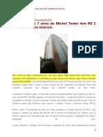 20160530 – Michelzinho, 7 anos, tem R$ 2 milhões em imóveis