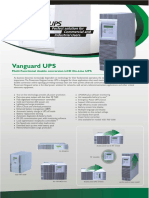 Van Guard UPS Brochure
