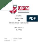 188434519 Aeroelastic Flutter