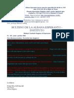 bulteno nr 125 de la albana esperato-asocio