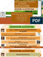 Aversion Gustativa