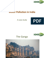 Water Pollution in India-A report