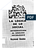 Logica Social Reimon Boudon