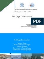 Fish Cage Construction