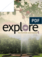 Explore the Foothills and Beyond 2016