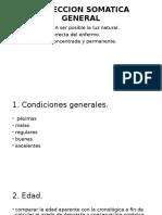 Inspeccion Somatica General - Semiología