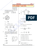 AIPMT 2016 Physics Paper With Ans & Solution by Allen Kota