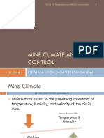 Mine Climate and Its Control 2