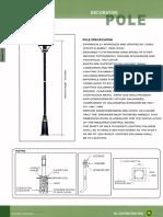 Decorative Pole