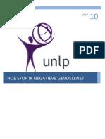 UNLP Stoppen Van Negatieve Gevoelens