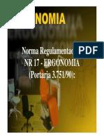 Nr 17 Ergonomia
