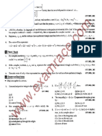 JEE Questions Complex Number