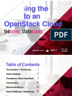 Weighing the Move to an OpenStack Cloud in Government