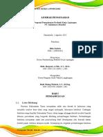 Proposal PKL EVALUASI PENGELOLAAN LIMBAH B3 PT. INDOMINCO MANDIRI