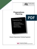 Prepadness Planning IFRC