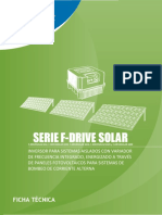 Serie f Drive Solar Ft