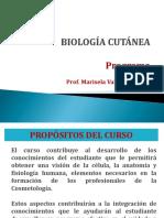 1_Biología Cutánea_Programa Marisela 2016