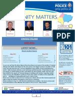 Cheadle Police newsletter, June 2016