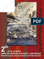 Libro de Ciencias Sociales y Ciencias Naturales Quechua