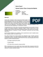 Global Carbon Fiber Composite Market
