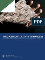 Nacionalni Okvirni Kurikulum Web Listopad 2011