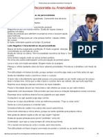 Perfeccionista, Personalidade Anancástica _ Psicologia 10