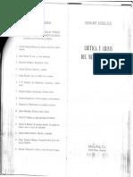 Critica y Crisis Del Mundo Burgues Reinhart Koselleck 1 PDF