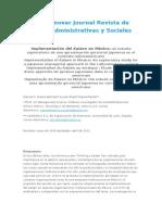 Revista Innovar Journal Revista de Ciencias Administrativas y Sociales