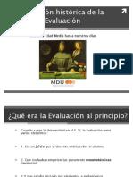 4. Evolución Histórica de La Evaluación