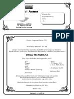 Contoh Surat Undangan Pemberian Nama Bayi