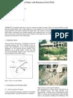 Stabilization-Reinforced Soil Wall