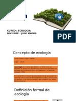 Semana 1 Ecologia