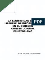 La Coantitucion y Libertad de Expresion Ecuador
