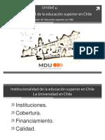 PPT NT 4 Institucionalidad de La Educación Superior en Chile
