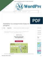 Como Habilitar La Compresion Gzip en Wordpress Sin Usar Plugins _ Ayuda WordPress